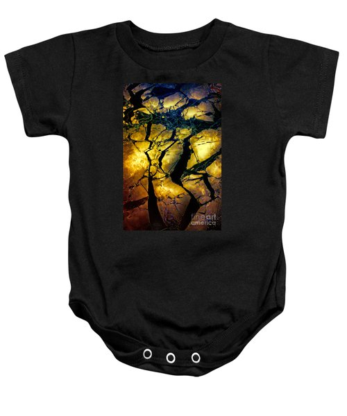 Magical Yellow 2 Baby Onesie
