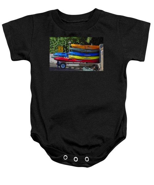 Malibu Kayaks Baby Onesie