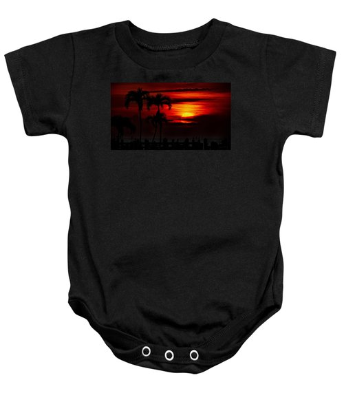 Baby Onesie featuring the photograph Marco Island Sunset 59 by Mark Myhaver