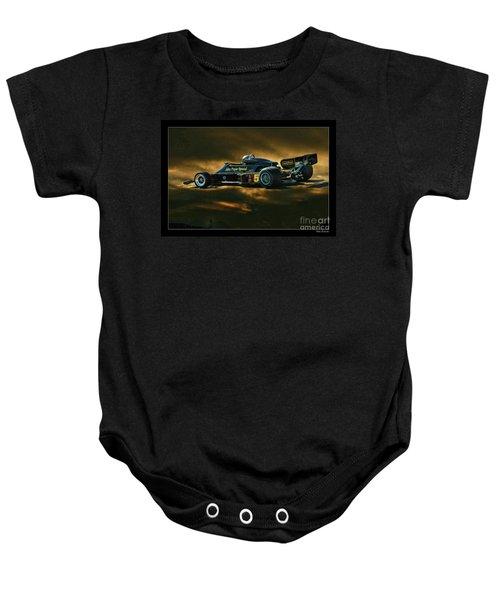 Mario Andretti John Player Special Lotus 79  Baby Onesie