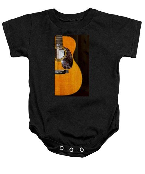 Martin Guitar  Baby Onesie by Bill Cannon