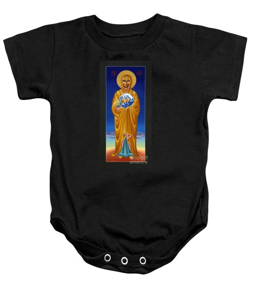 Mary Most Holy Mother Of All Nations 080 Baby Onesie
