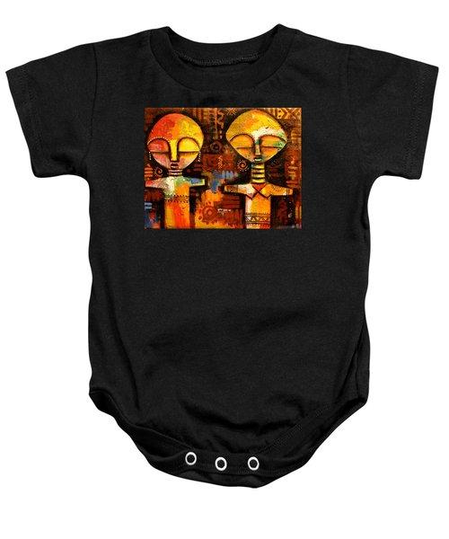 Mask 5 Baby Onesie