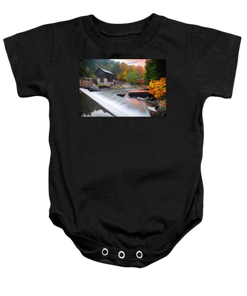 Mcconnell's Mill Fall  Baby Onesie