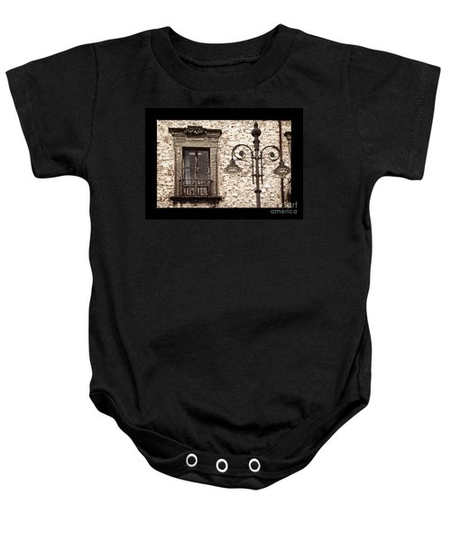 Medieval And Modern Baby Onesie