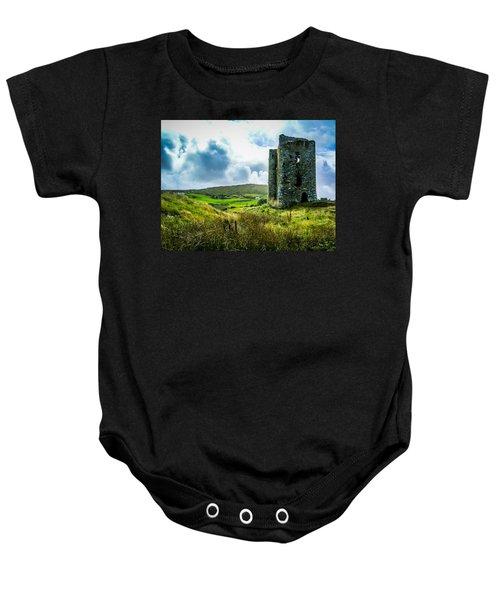 Medieval Dunmanus Castle On Ireland's Mizen Peninsula Baby Onesie