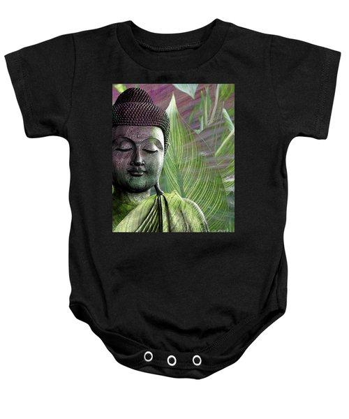 Meditation Vegetation Baby Onesie