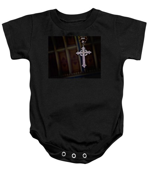 Methodist Jewelry Baby Onesie