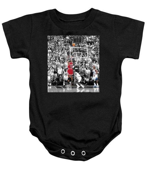 Michael Jordan Buzzer Beater Baby Onesie