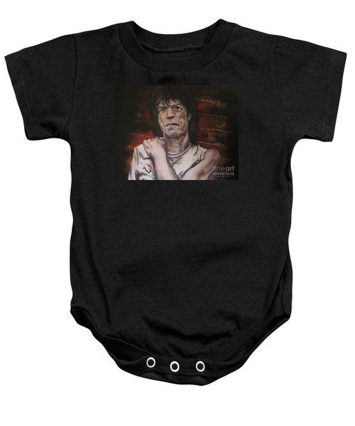 Mick Jagger - Street Fighting Man Baby Onesie