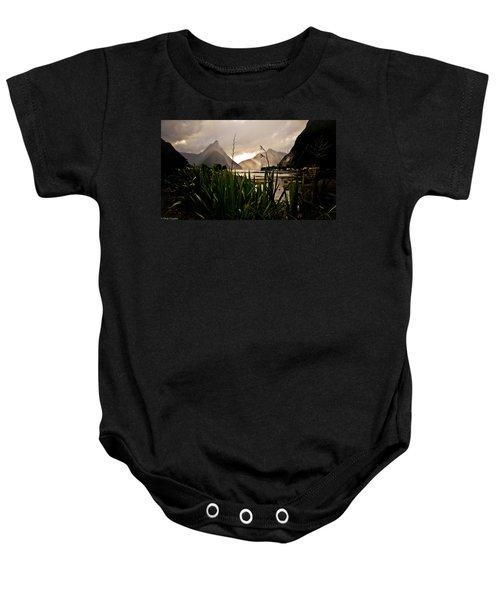 Milford Sound Baby Onesie