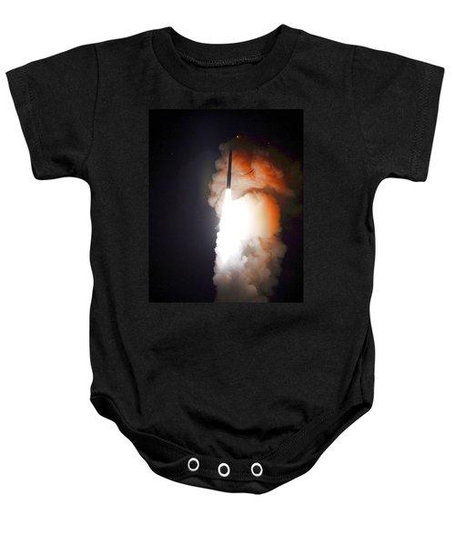 Minuteman IIi Missile Test Baby Onesie