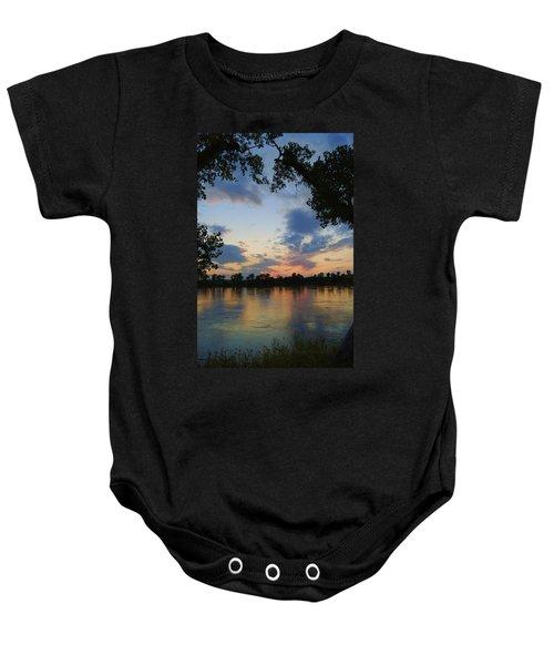 Missouri River Glow Baby Onesie