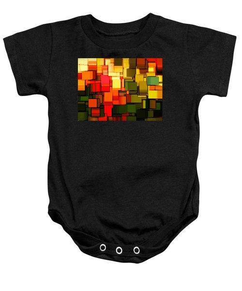 Modern Abstract I Baby Onesie by Lourry Legarde