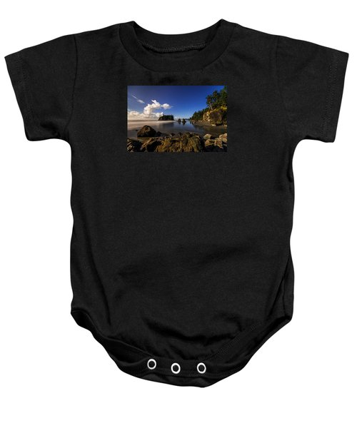 Moonlit Ruby Baby Onesie by Chad Dutson
