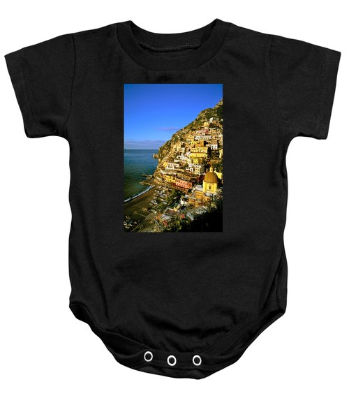 Morning Light Positano Italy Baby Onesie