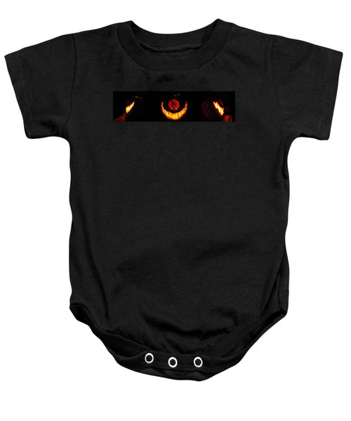 Mutant Strawberry Clock Baby Onesie
