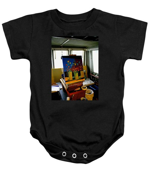 My Art Studio Baby Onesie