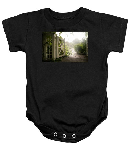 Mystic Garden - A Wonderful And Magical Place Baby Onesie