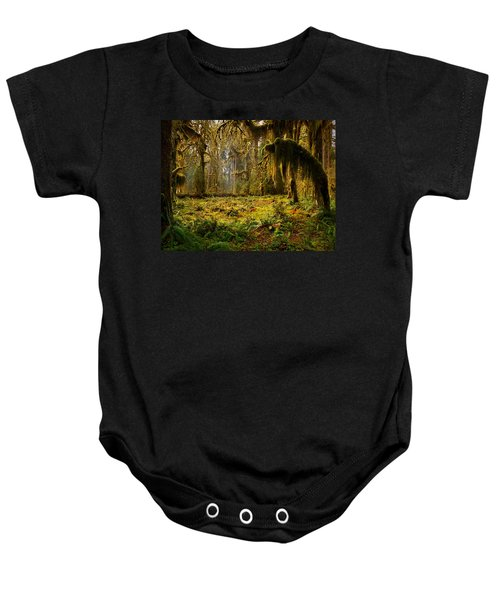Mystical Forest Baby Onesie by Leland D Howard