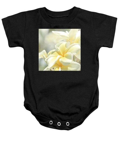 Na Lei Pua Melia Aloha E Ko Lele Baby Onesie