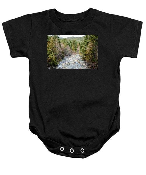 Island Stream Baby Onesie