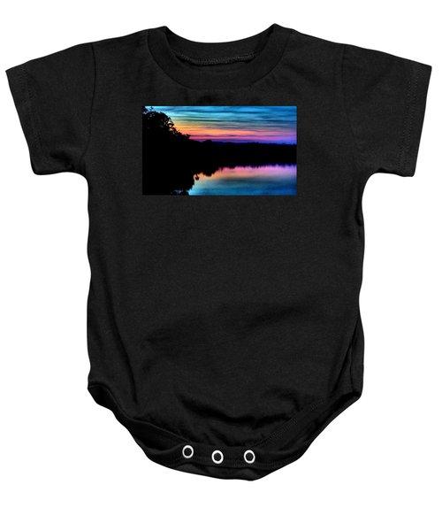 Nature's Rainbow Baby Onesie