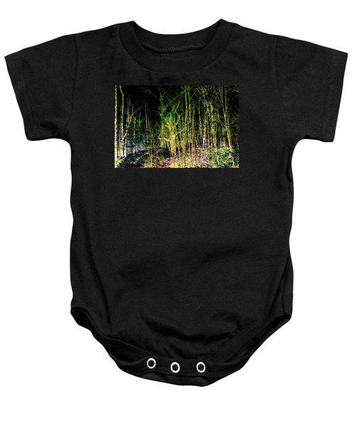 Negative Forest Baby Onesie