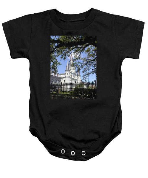St. Louis Cathedral 20 Baby Onesie