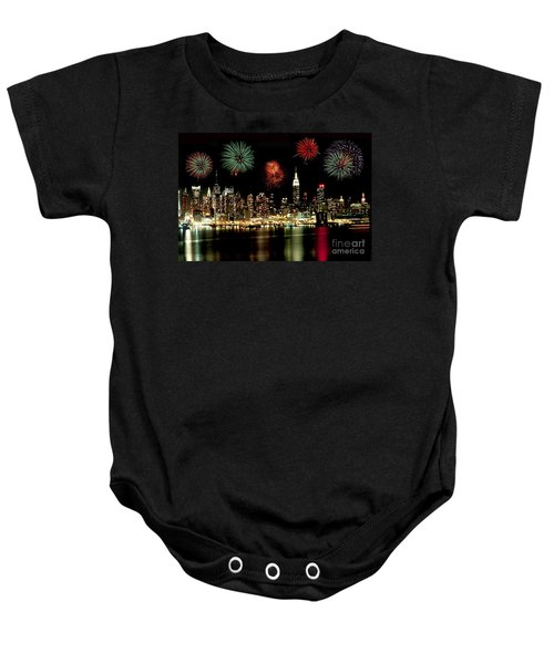 New York City Fourth Of July Baby Onesie