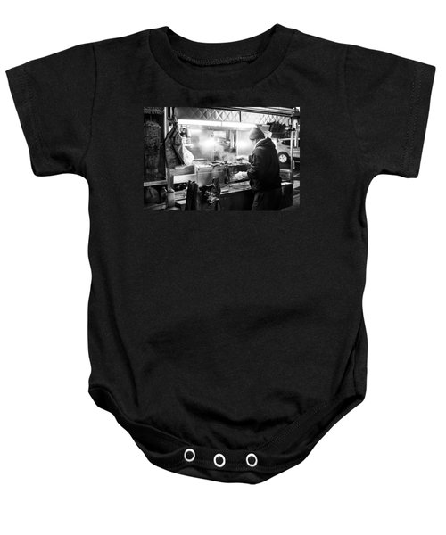 New York City Street Vendor Baby Onesie