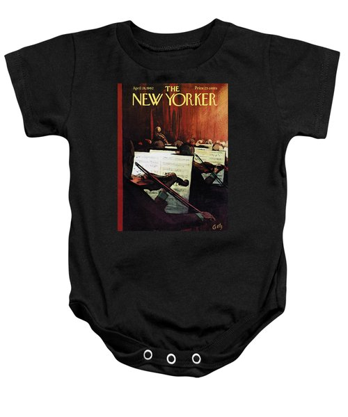 New Yorker April 28th, 1962 Baby Onesie