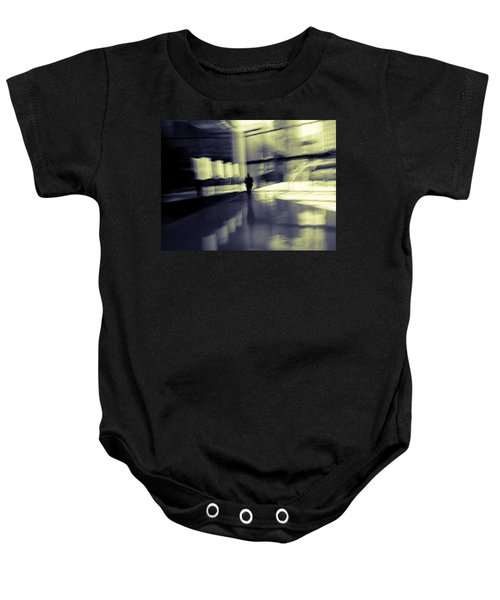 Baby Onesie featuring the photograph Nexus by Alex Lapidus
