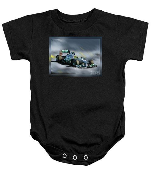 Nico Rosberg Mercedes Benz Baby Onesie