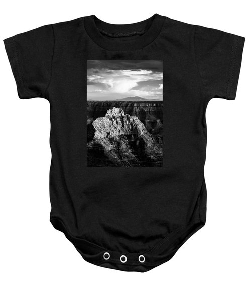 North Rim Baby Onesie by Dave Bowman