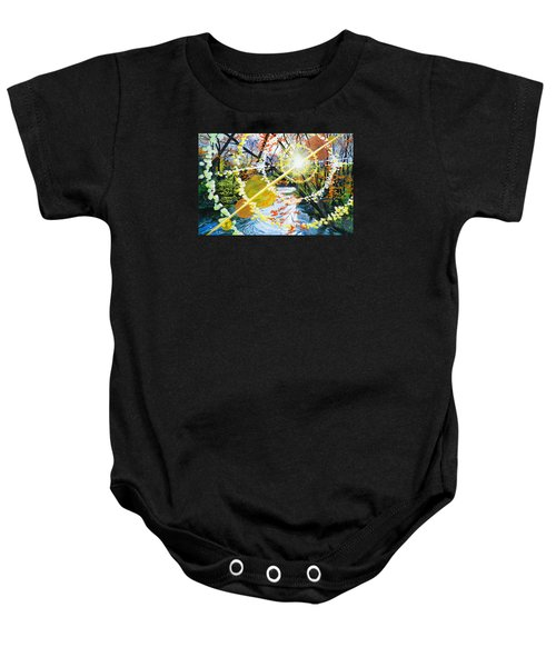 The Glorious River Baby Onesie