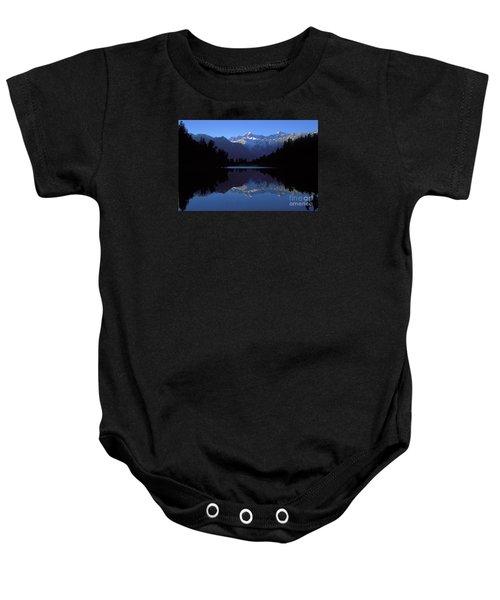 New Zealand Alps Baby Onesie