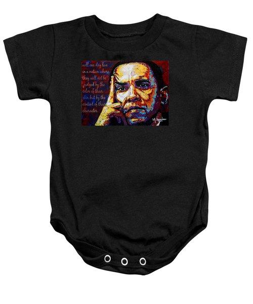 Obama Baby Onesie by Maria Arango
