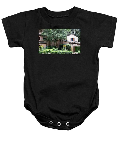 Old Florida Style Baby Onesie