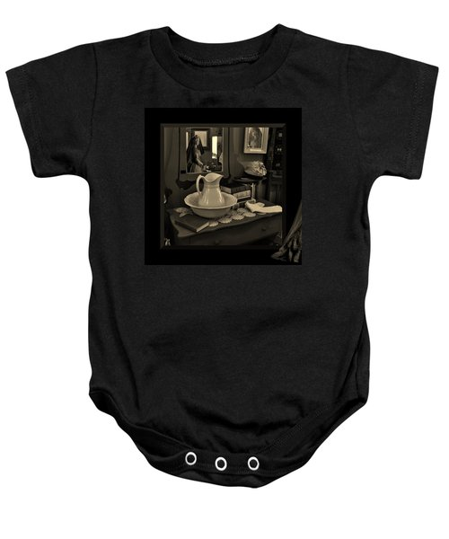 Old Reflections Baby Onesie