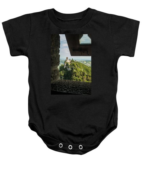 On The Inside Baby Onesie by Alex Lapidus