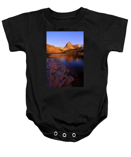 Once Upon A Rock Baby Onesie