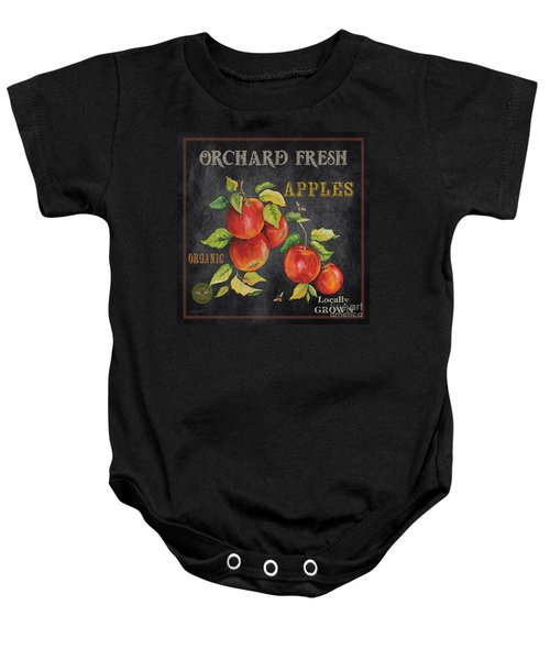 Orchard Fresh Apples-jp2638 Baby Onesie