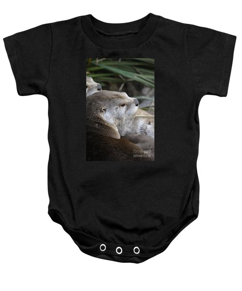 Otter And Family Baby Onesie