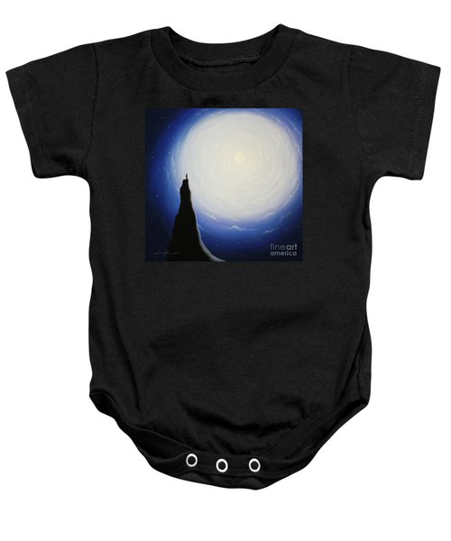Somewhere Out In Space Baby Onesie
