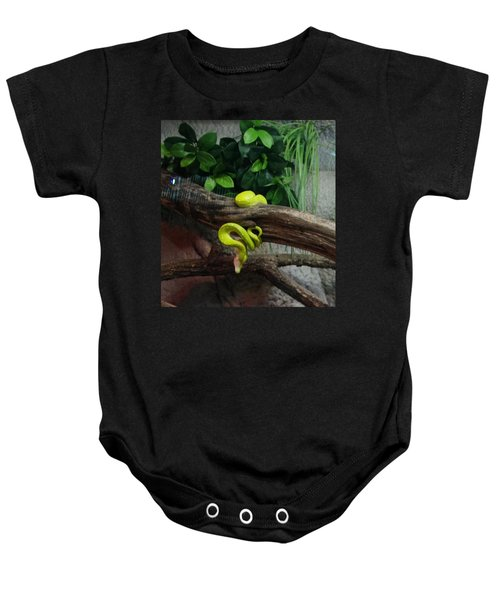 Out Of Africa Tree Snake Baby Onesie