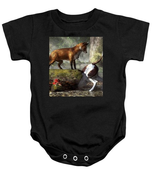 Outfoxed Baby Onesie