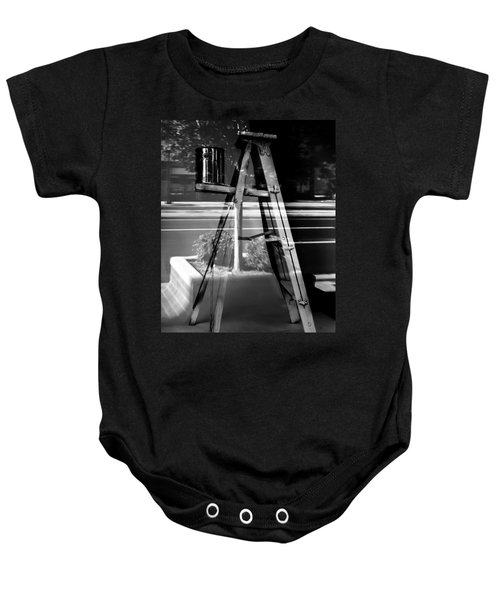 Painted Illusions - Abstract Baby Onesie