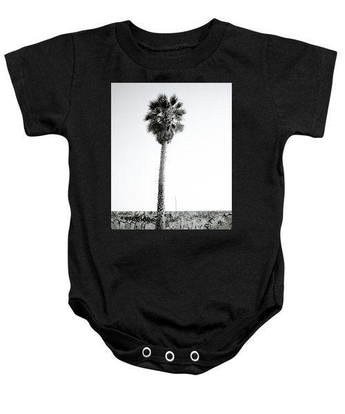 Palm Tree And Graffiti Baby Onesie