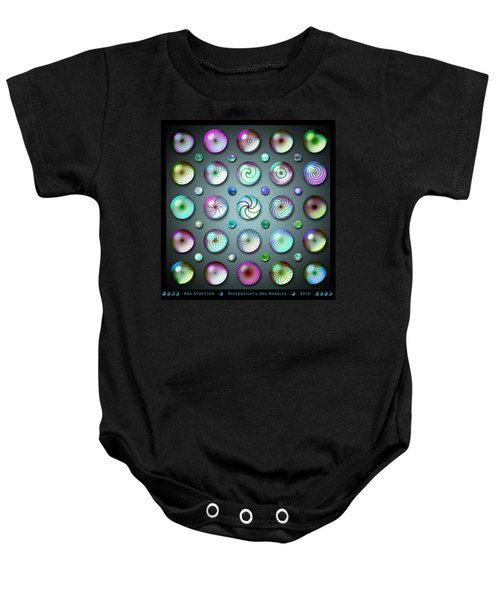 Paperweights And Marbles Baby Onesie